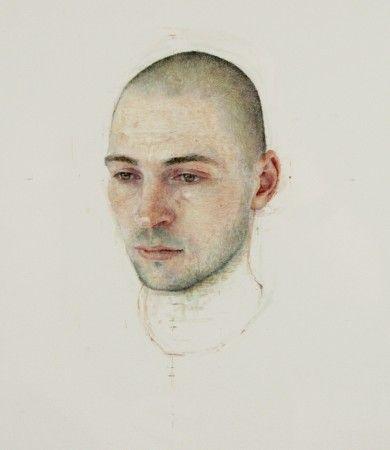Adam #1, 2009, egg tempera on paper Robert Bauer