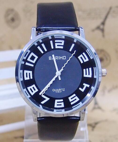 1 Stks Hot sales Bariho lederen band horloge mannen vrouwen analoge quartz horloges uur klok C 100 in we veel kleuren, vertel ons welke kleur u nodig!maat:* middellijn van horloge: 4 cm* band lengte (inclusief h van quartz horloges op AliExpress.com   Alibaba Groep