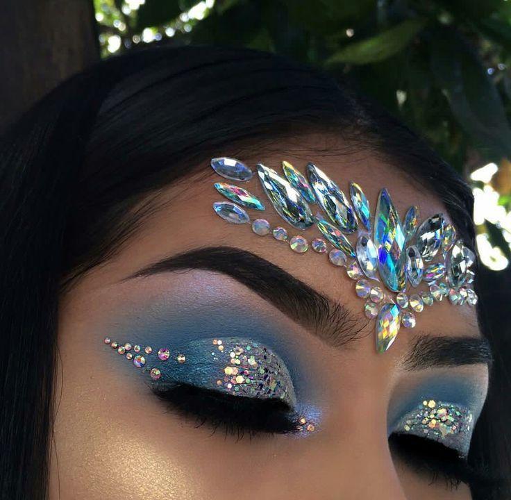 Image Result For Trinidad Carnival Makeup Jewel Makeup Carnival