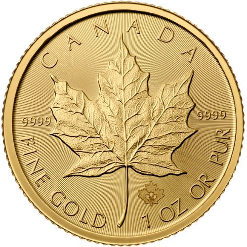 Buy 2015 Canadian Gold Maple Leafs Online 1 oz | JM Bullion™$1,273.74