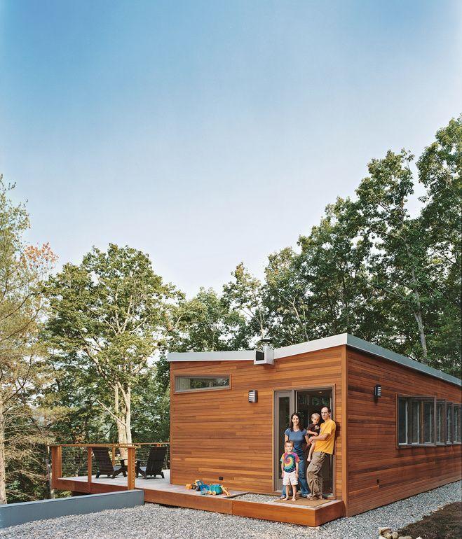 Prefab Cabin in West Virginia