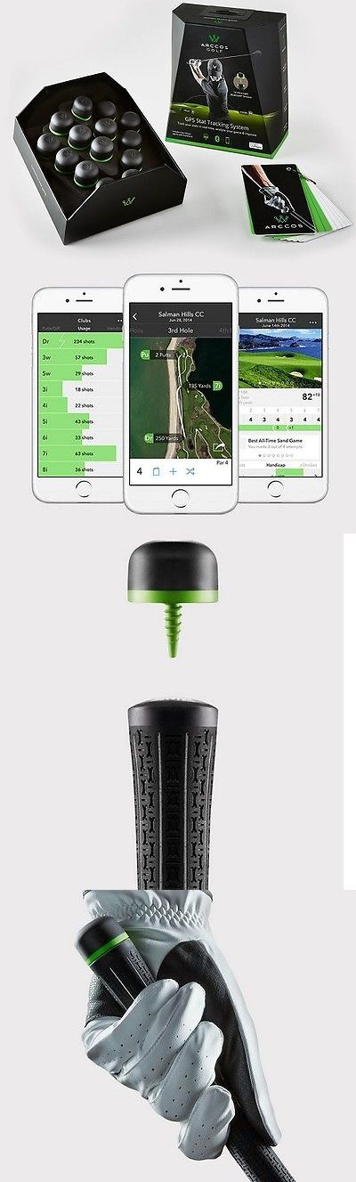 Other Golf Training Aids 14109: New Arccos Golf Performance Iphone Gps Shot Tracking System W Tour Analytics -> BUY IT NOW ONLY: $299 on eBay!