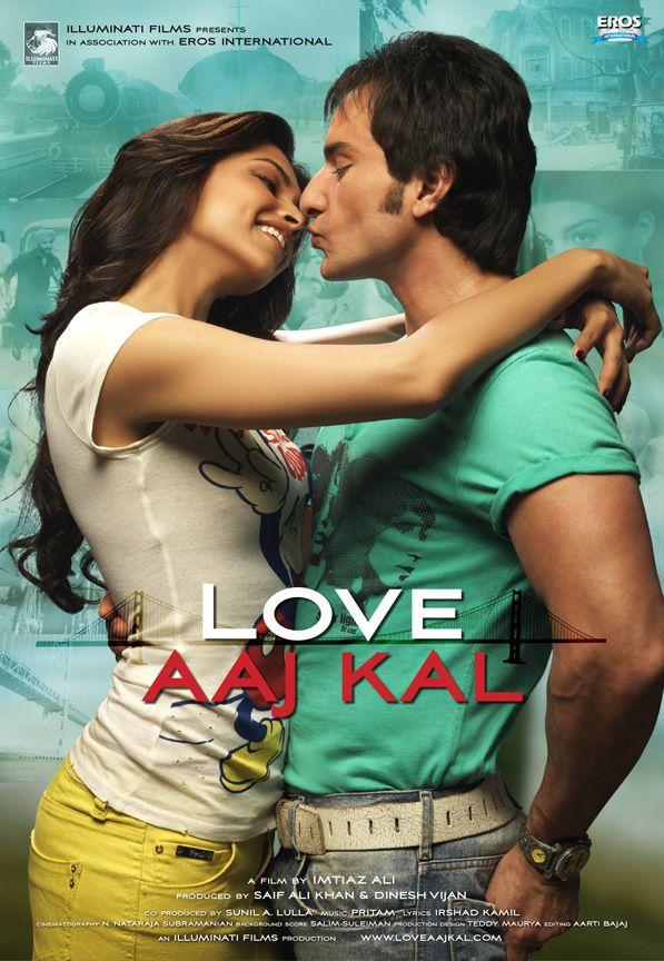 """""""Love Aaj Kal."""" Hindi. I forgot how much I love Saif Ali Khan and Bollywood movies!!!"""