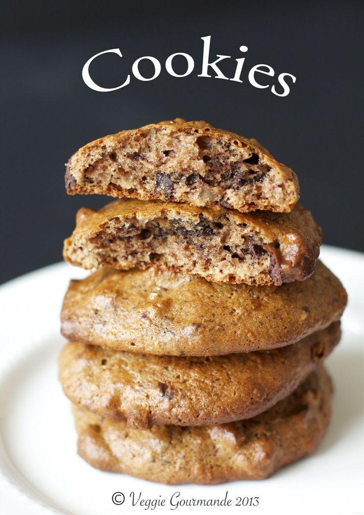 Cookies moelleux à la châtaigne (vegan/sans gluten)