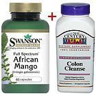 Pure African Mango Plus Safe Natural Colon Cleanse/Flush weight loss/diet pills