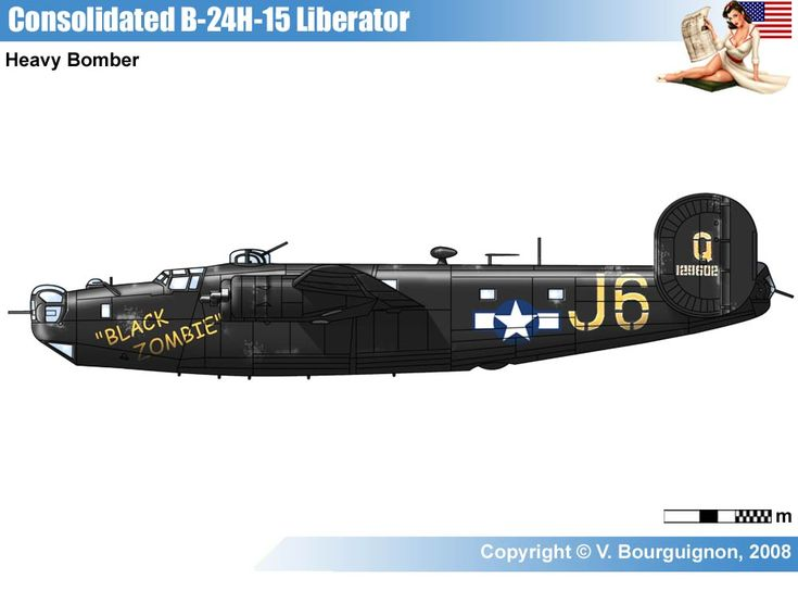 137 best images about consolidatet b 24 liberator colors
