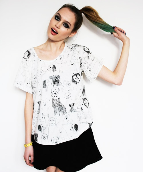 dog lady shirt