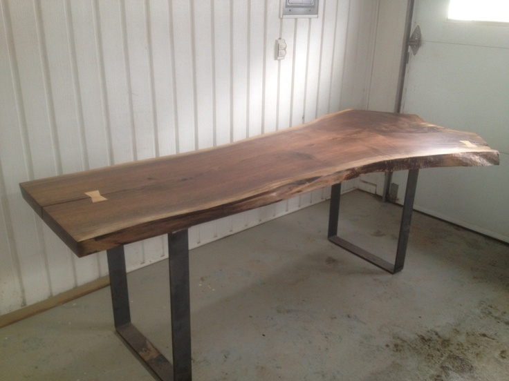Pin by charles st louis on live edge pinterest for U shaped dining room table