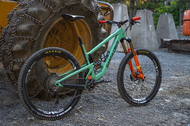 Dylanwolsky S New Rig This Fresh Santacruzbicycles Megatower Is