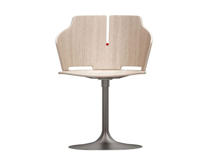 PRIMA Sedia girevole Collezione Prima by Luxy design Favaretto
