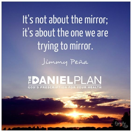 Who it's really about. From The Daniel Plan: 40 Days to a Healthier Life. For more info on Pastor Rick Warren's new book, click here http://www.familychristian.com/daniel-plan-40-days-to-a-healt.html