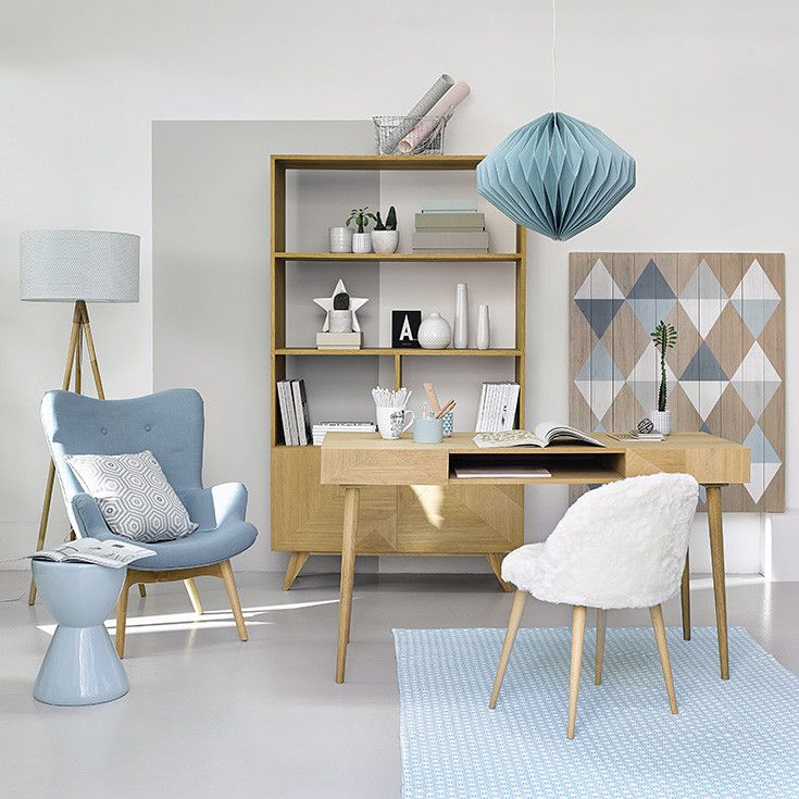 les 25 meilleures id es de la cat gorie bureau scandinave sur pinterest chaises de bureau. Black Bedroom Furniture Sets. Home Design Ideas