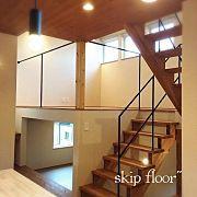 Overview,ナチュラル,リビング,階段,新居,キッズルームに関連する他の写真