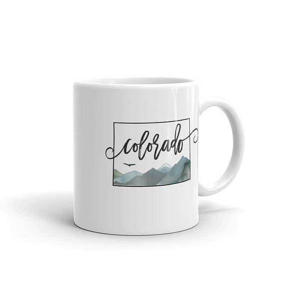Colorado Mug Gift Colorado Home State Mug Colorado Life Tea Mug Large Coffee Cup With Colorado Mountains Coffee Mug Housew Mugs Colorado Gift One Year Gift