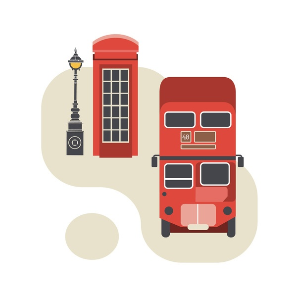 #London #illustration