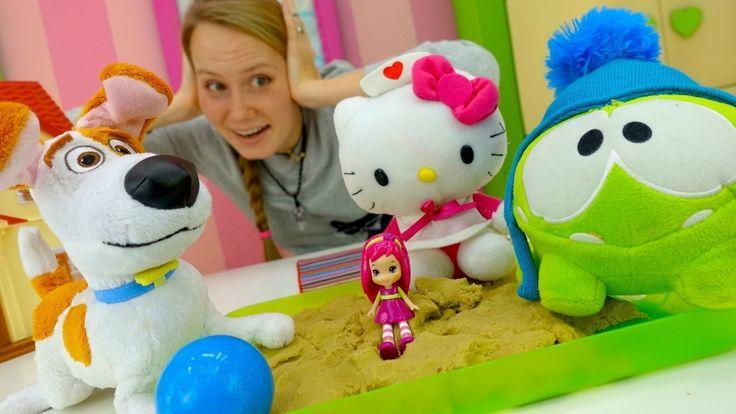 ДЕТИ-Игрушки идут в детский сад. Видео для детей: Ам Ням, Китти, Макс (Т...