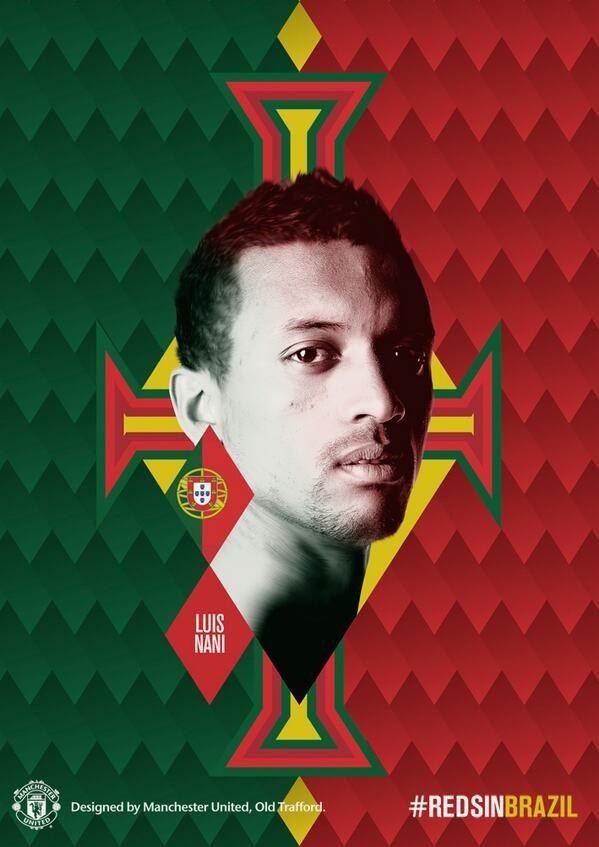 Nani, Portugal and MUFC #RedsinBrazil
