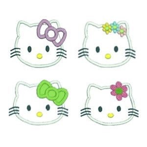 PES Hello Kitty Applique by MyIttyBittyDesign