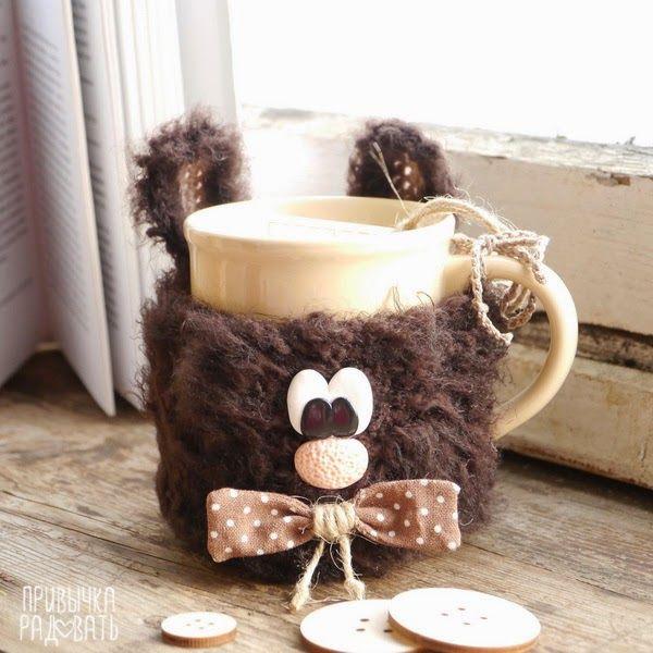 Привычка Радовать: Овечки  Not crochet or knit but very cute!