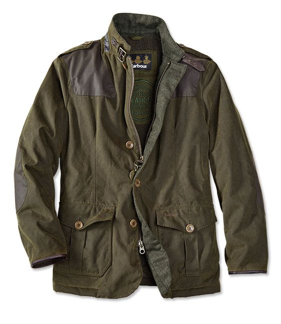 Fleece And Quilt Lined Barbour Jacket For Men - Barbour%26%23174%3b Wyton Jacket -- Orvis