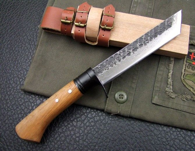 Gentil CK Tanto Handmade Hunting Knife / Japanese Style, Canada Knives And Swords