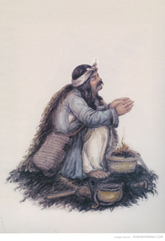 Ezzat Qalandar, the Dervish who is out of opium and prays for some more