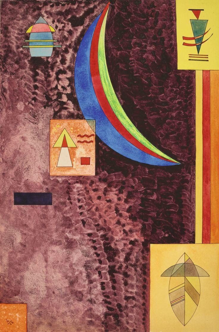 Scharf (1928) - Wassily Kandinsky
