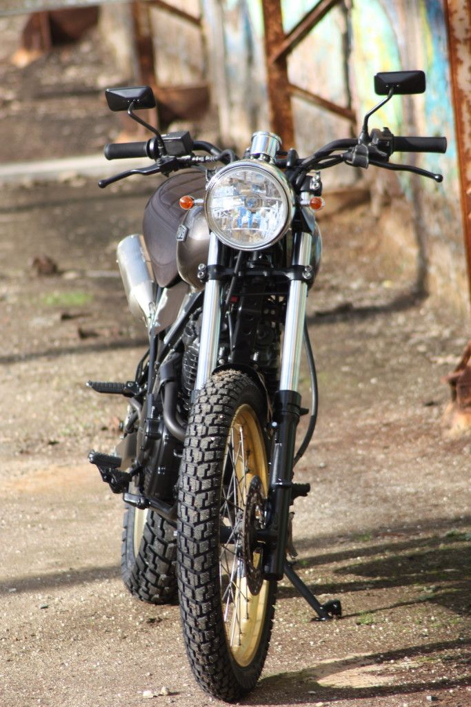 Honda Dominator Scrambler 3