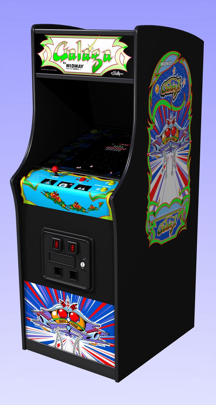 Ahhhh if I only had a dime for every quarter I dumped into the Galaga machine at the local 7-11.....