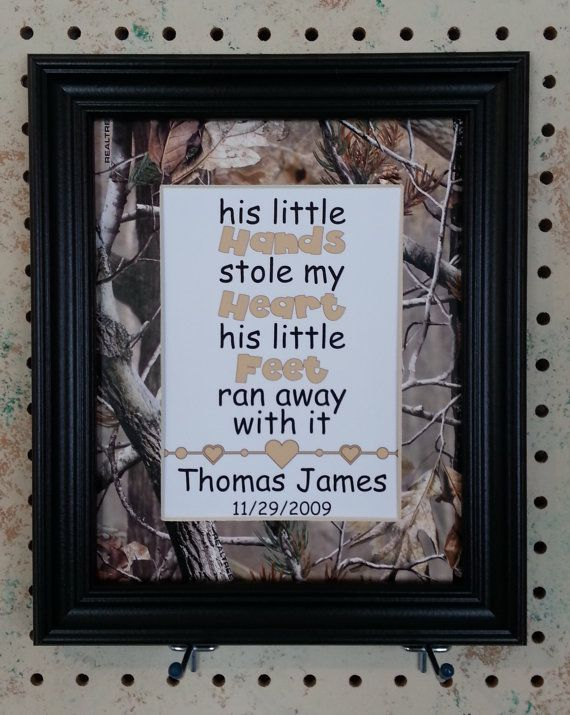 Personalized 5x7 Print Matted to 8x10 Realtree by BluffViewDesign, $18.00