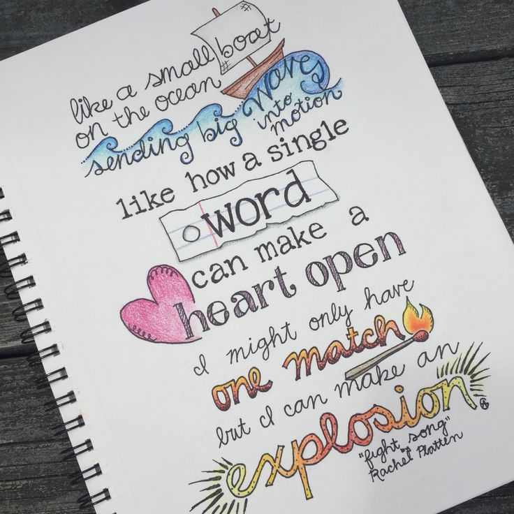 Quotes With Drawings Magnificent Best 25 Lyric Art Ideas On Pinterest  Lyric Drawings Music