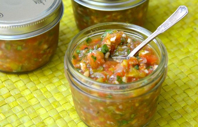 hatch green chile salsa from no more to go