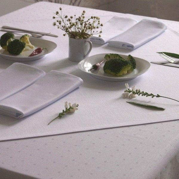 Obrus Aria, kol. biały  www.mabotex.pl  #horeca #restaurant #tablecloth