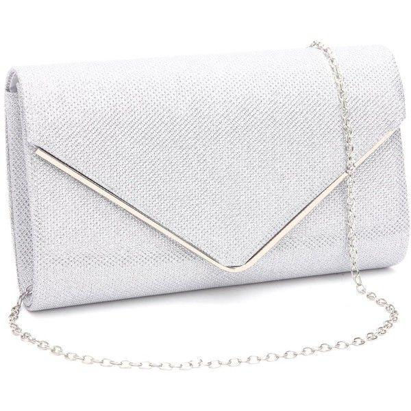 Women Diamante Faux Suede Bridal Clutch Envelope Prom Party Ladies Evening Bags