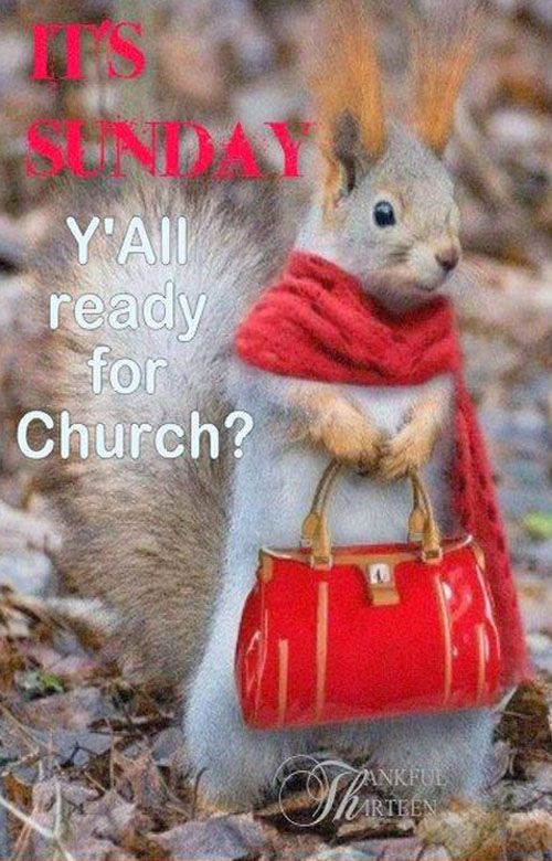 Have a blessed Sunday! ♥ (Love going to Church Sunday morning & evening!) & Wed. too
