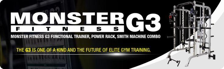 Force USA Monster G3 Power Rack Cage Smith Machine Elite Fitness Equipment Australia