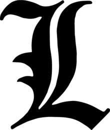 L (Death Note)   Wikipedia, The Free Encyclopedia