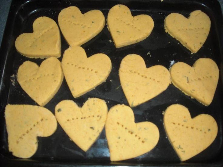 Dog Cookies Made With Baby Food And Garlic