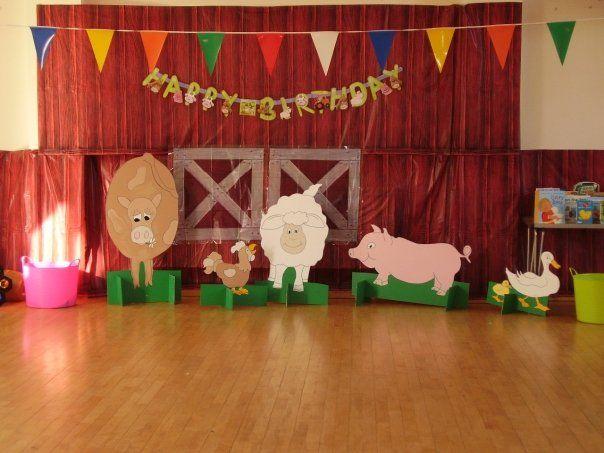 Barnyard Roundup Vbs Decorating Ideas