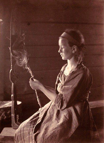 19 век Ухта (нын. Калевала)  Автор фото 19 век Инха (Нюстрём) Инто Конрад