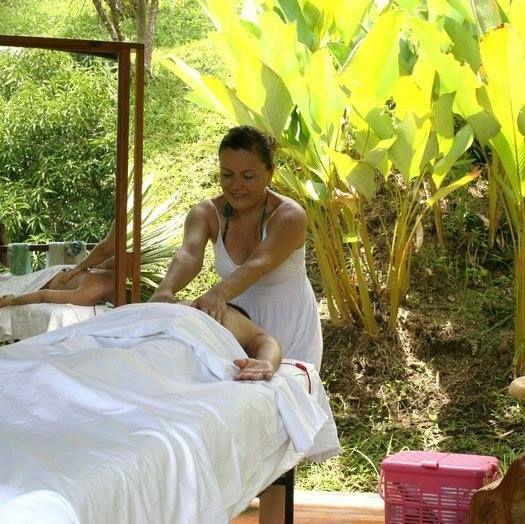 Massage nature therapy