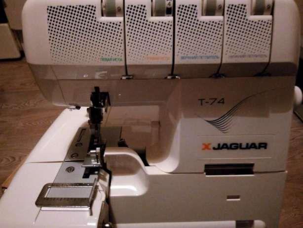 Продам Оверлок JAGUAR T-74 Мощность 120 W Одесса - изображение 1