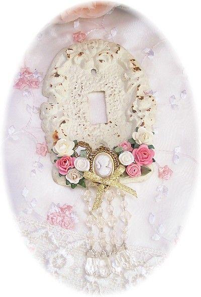 Romantic Victorian Home Collection: Victorian Accessories...Decorative Light Plate Cover