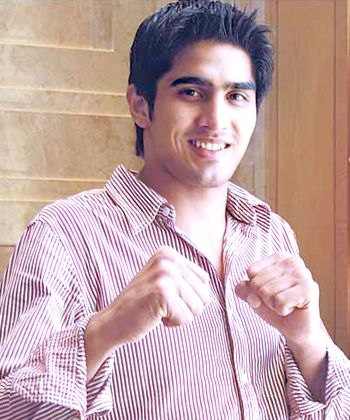 Vijender Singh gets closer to his Olympic dream!