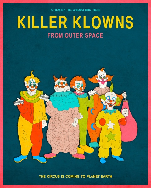 31 best killer klowns from outer space images on pinterest for Killer klowns from outer space