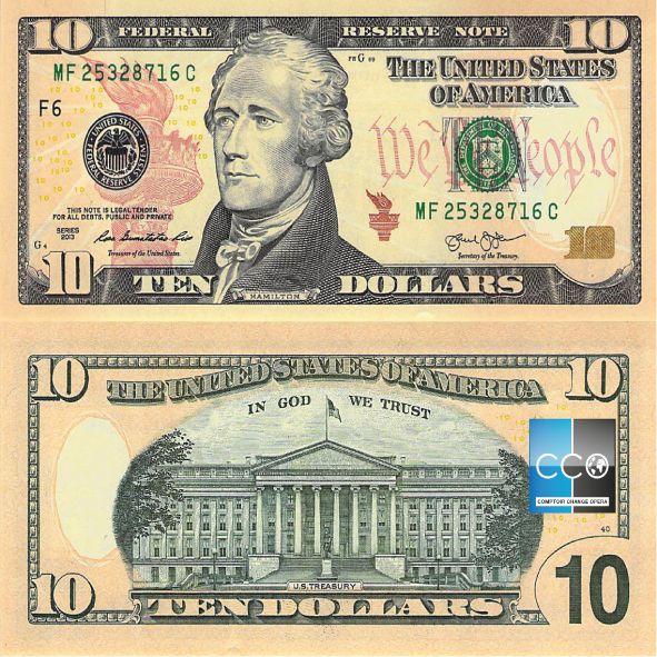 Portrait de : Président Alexander Hamilton