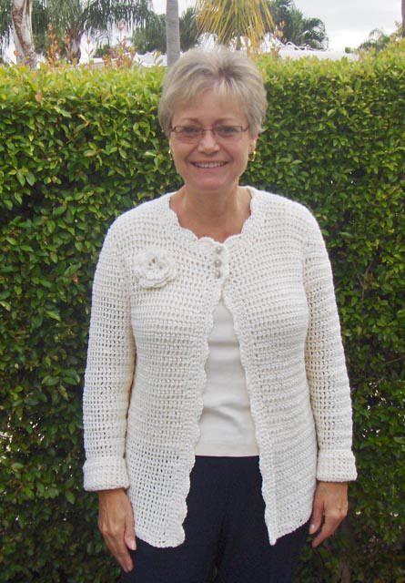 Crochet free pattern wearable crochet SimpleSweater posted by Wolf Crochet