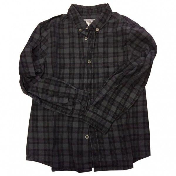 SHIRT BONPOINT ❤ liked on Polyvore featuring tops, shirts, clothing - ls tops, flannel, shirt top, flannel top, bonpoint and flannel shirts