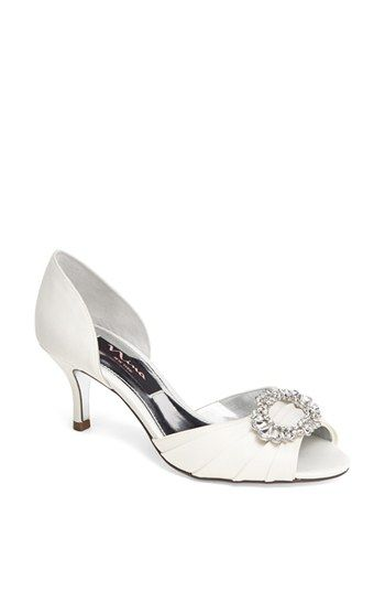 Nina 'Crystah' Embellished Satin Pump (Save Now through 12/9) available at #Nordstrom