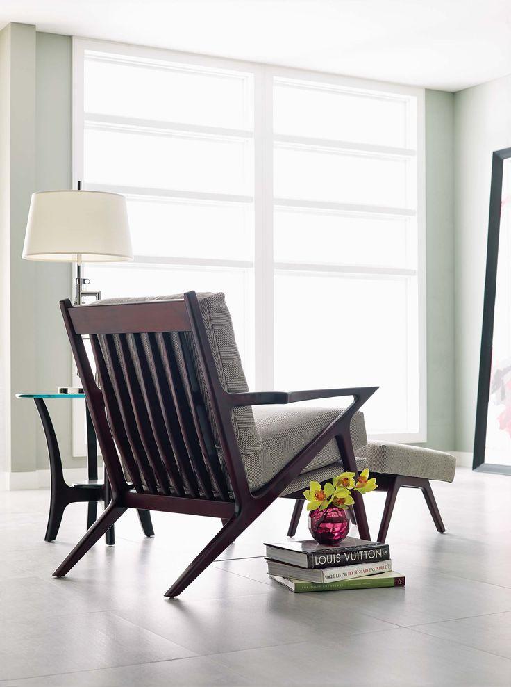 Stickley Elroy Chair Midcentury Modern Look The Modern